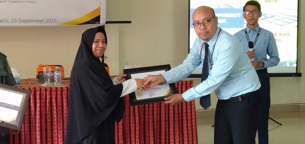 Sekretariat DPRD Dapat Kejutan Penghargaan di Gathering Bendahara Pemerintah KP2KP Malili