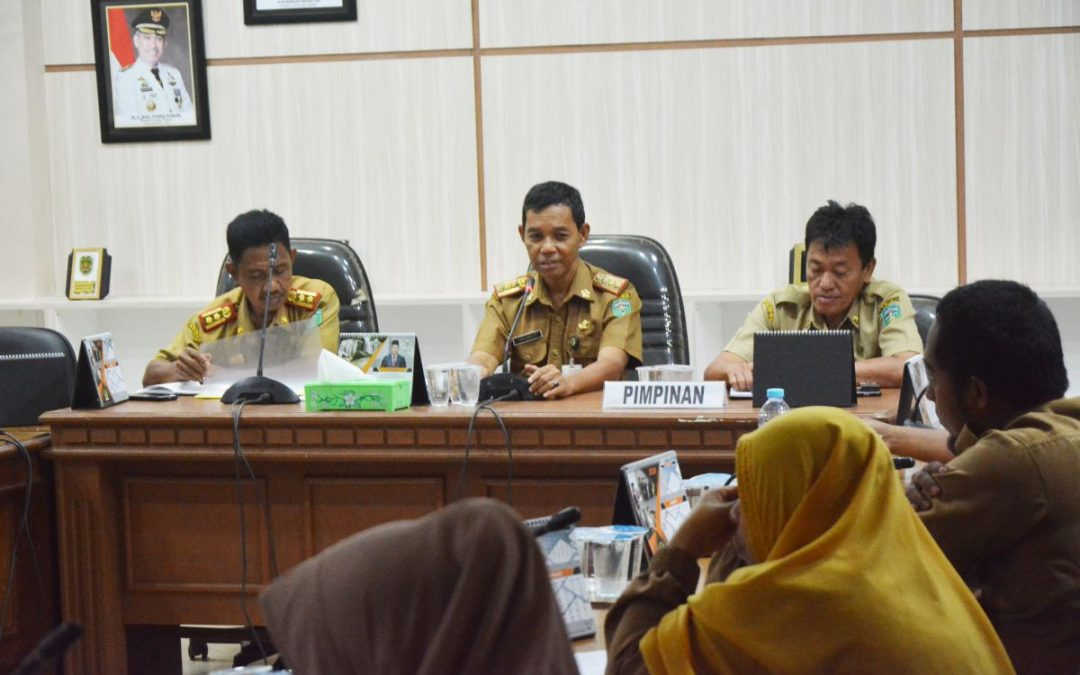 Gelar Rapat Staf Dipenghujung tahun, Rapiuddin : Jabatan itu amanah